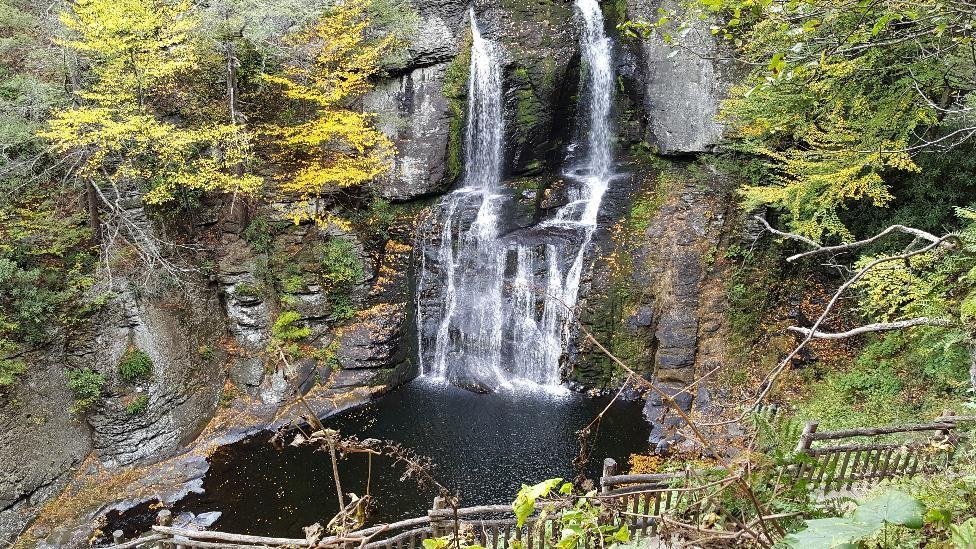 Bushkill Falls trip 2016