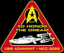 USS Adamant Logo